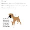 2 Hounds Design collar sizing chart