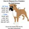 2 Hounds Design harness sizing chart