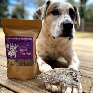 fish skins dog treats