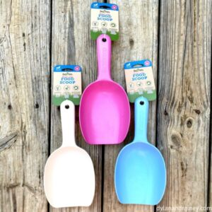 eco-friendly dog food scoop